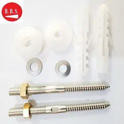Ss Rack Bolt Screw Wash Basin Wall Mounting