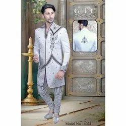 Off White Readymade Exclusive Sherwani & Off White Bottom