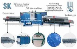 Sk Glass Machines Eva Pvb Sgu Tpu Pet Laminated  Furnace Oven Machine Four Layer