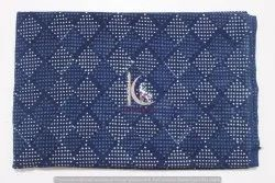 Dabu Hand Block Print 100% Cotton Natural Indigo Blue Print Fabric