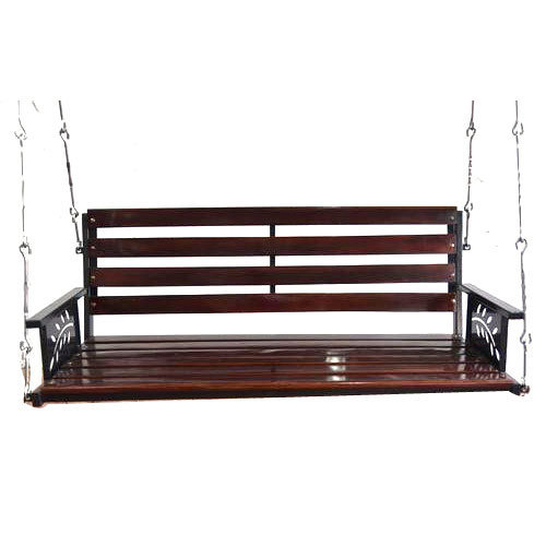 Brown And Black Hanging Wooden Swing Rs 25000 Piece Vishwa