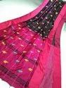 Cotton silk embroidery work handloom saree