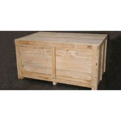 Edible & Non-Edible Termite Resistant Rubber Wooden Box, for Shipping, Box Capacity: 201-400 Kg