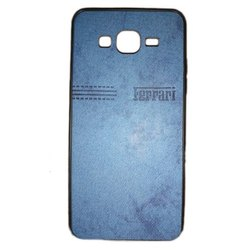 Plastic Blue Mobile Back Cover, Size: 5 Inch