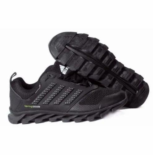 2a5db3c79154 Men Black Max Air Springblade Running Sport Shoes
