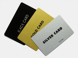 Gold And Silver Card