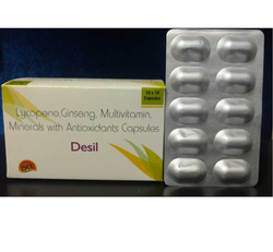 Lycopene, Ginseng, Multivitamins With Multiminerals Capsules