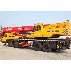 Sany Hydraulic Mobile Crane, Horizontal Outreach: 1200 Mm, Platform Capacity: 25 - 2000 Ton