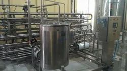 Pasteurizer (Tube&Tube System)