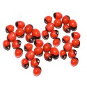 Red Gunja Chirmi Beads