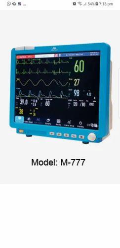 ICU M-777 Patient Monitor Meditec England, Display Size: 15