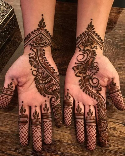 mehendi design for marriage