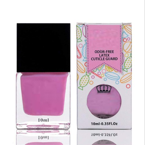 Odour Free Latex Cuticle Guard Peel Off Liquid Latex Tape For Nail Art Nail Stamping Pink
