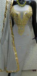 Aaditri Ethnic Georgette Suit With Gota Patti