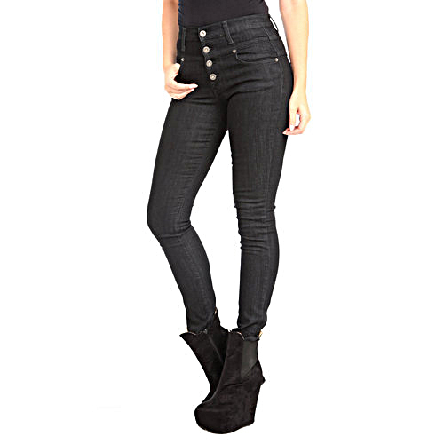 ddfca6f894027 Skinny Stretchable Ladies Black Jeans, Rs 300 /piece, Rattan's ...