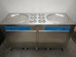 Roll ice cream machine manufacturers, Capacity: <200 L