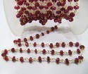 Natural African Ruby Chain