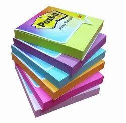 mix color 3M Post-It Sticky Colors Notepad 76cm/76cm, Size: 76*76 Cm