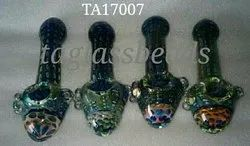 New Design Glass Tobacco Pipe Smoking Hand Pipe