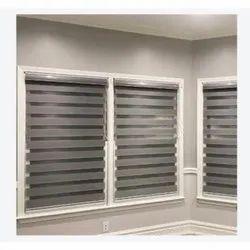 Grey PVC Interior Venetian Blinds, for Residential