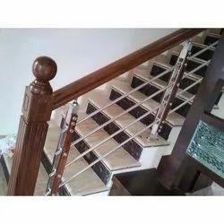 Stainless Steel Staircase Railing in Bengaluru, Karnataka ...