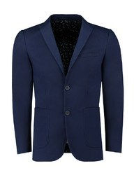 Blue ROYYD Slim Fit Mens Blazer, Size: S-xxl