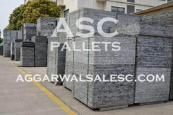 Plastic Pallets For Fly Ash Bricks, Dimension/Size: 8X4