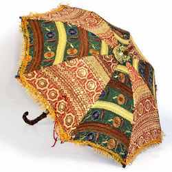 Colorful Design Rajasthani Umbrella Handicraft 216