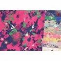 46 Inch And 58 Inch Floral Print Viscose Jacquard Fabric, Gsm: 100-300