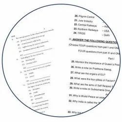 1-2 Days Exam Paper Printing Services, in Local