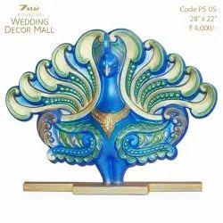 PS05 Peacock Sculpture