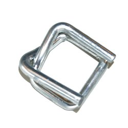 Silver Strapping Wire Buckle, Packaging Type: Box