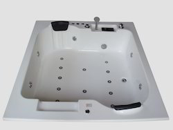 Innovation Bathtub (6' x 5.25') with Jacuzzi Massage, Bubble