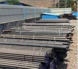 Round Galvanized Seamless Steel Pipe