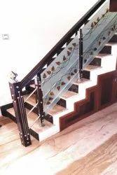 SSM66 Stainless Steel Glass Stair Railing