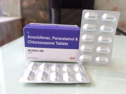 Paracetamol Aceclofenac Chlorzoxazone Tablets