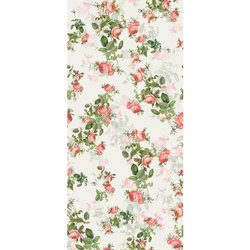 Poly Muslin Digital Printed Fabric