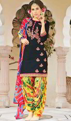 Rayon Patiala Suit