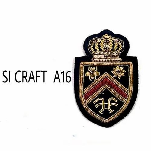 Hand Made Embroidered Badges