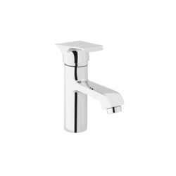 DBI Silver Color Brass Single Lever Basin Mixer Tap