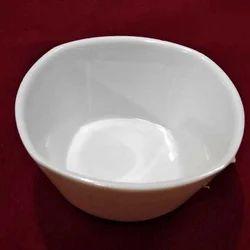 White Melamine Bowl