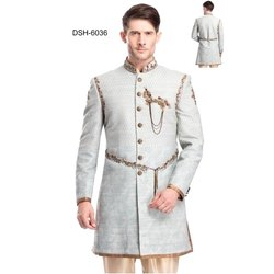 Diwan Saheb DSH-6036 Mens Embroidered Indo Western