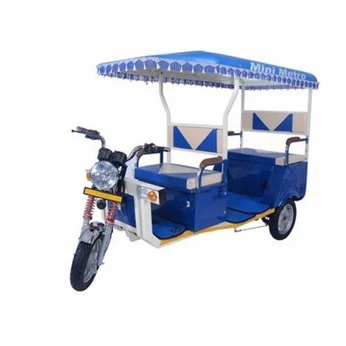 Mini Metro 2s Rechargeable Battery E Rickshaw Charging 9 10 Hr