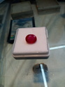 Glass Field Ruby Gemstone