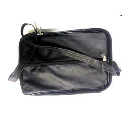 Black Polyester Office Side Bag, Capacity: 1 kg