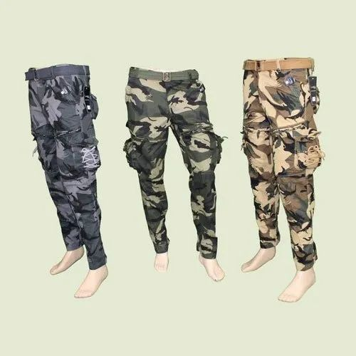 store really comfortable street price Mens Cotton Army Cargo Pants