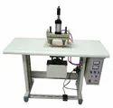 Double Spot Non Woven Loop Handle Welding Machine