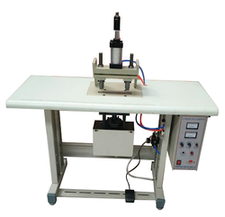 Double Spot Non Woven Loop Handle Welding Machine