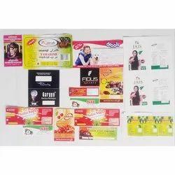 PVC Label Sticker Printing Service, In Thrissur, Kerala