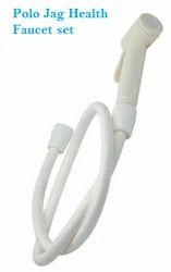 Ivory Polo Health Faucet Set Jaquar Type
